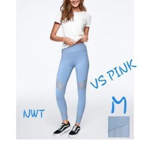 M VS PINK NWT BEST BUTT HIGH WAIST COTTON MESH LEG